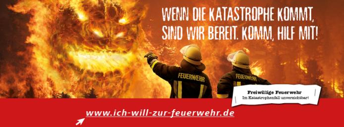 Ich will zur Feuerwehr Kampagne